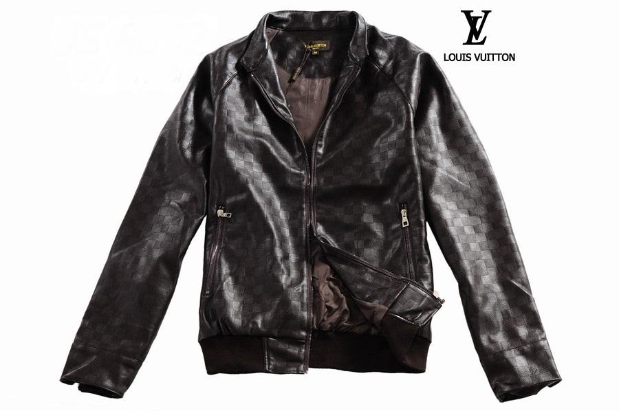 louis vuitton damier mens leather jacket discounts at