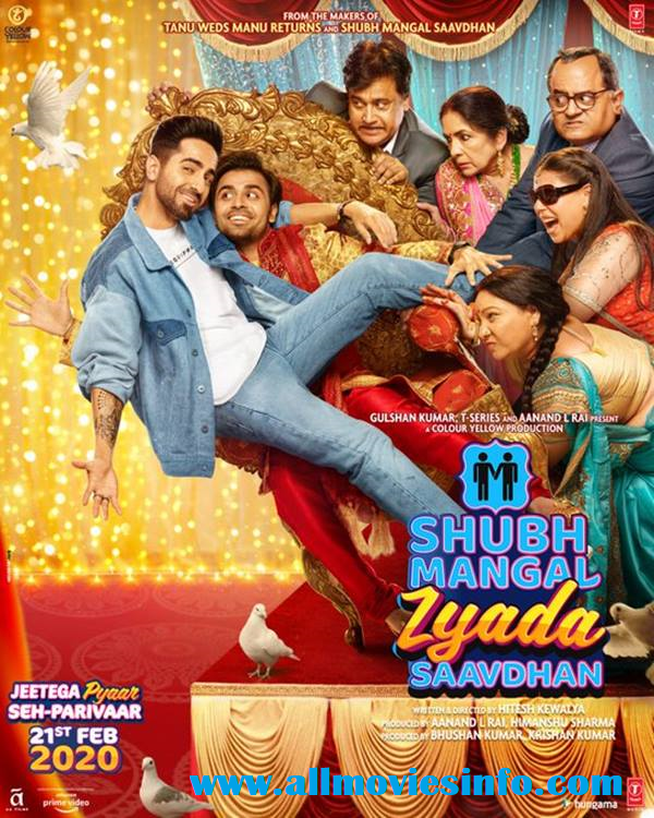 Shubh Mangal Zyada Saavdhan Movie Review, Cast, Budget & Box Office Collection