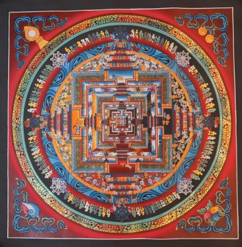 Kalachakra Mandala Thangka Paintings and meaning of kalachakra