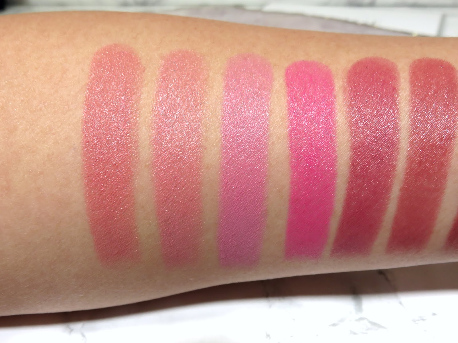 House of Sillage Diamond Powder Satin Lipstick Swatches