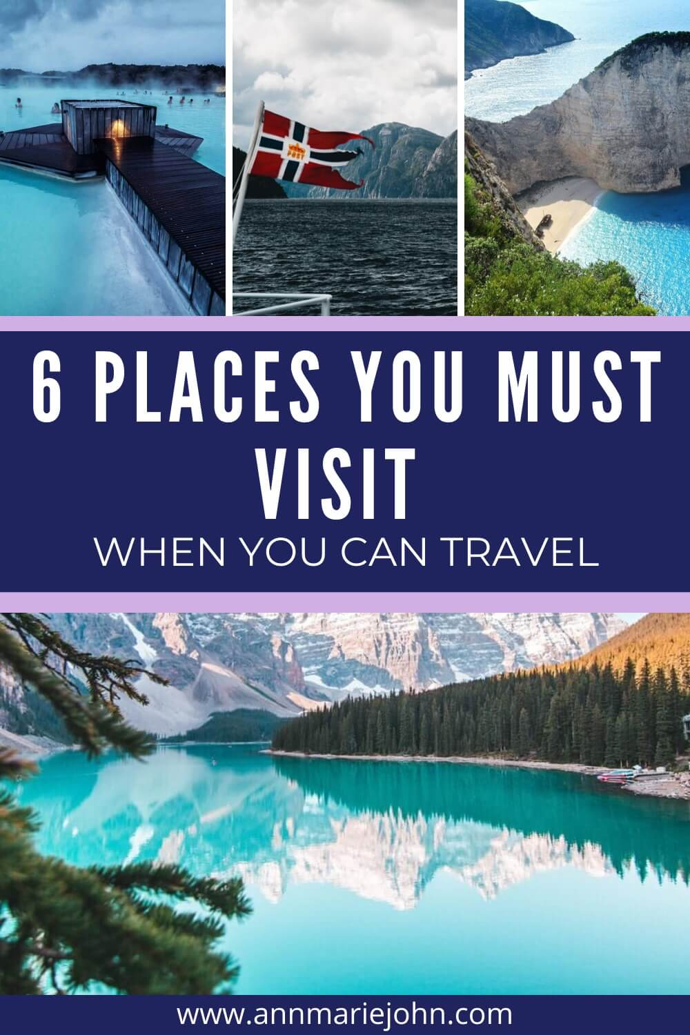 6 Places You Must Visit When You Can Travel