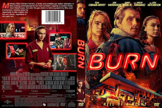 Burn (2019) DVD Cover