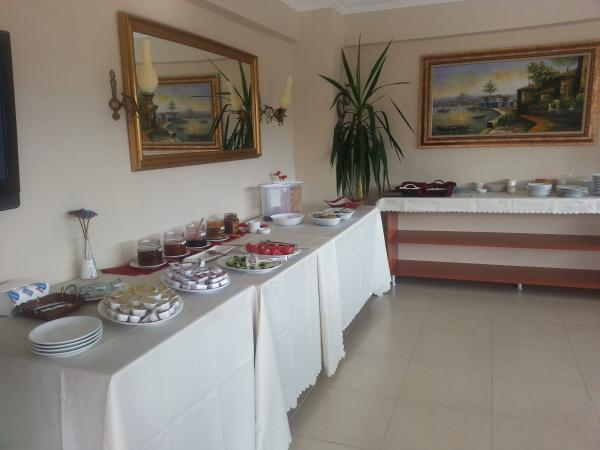 Breakfest in Bella butik hotel, Marmaris, Turkey.