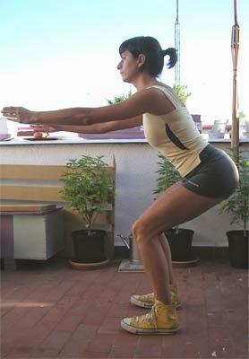 Empezar el entrenamiento con las piernas