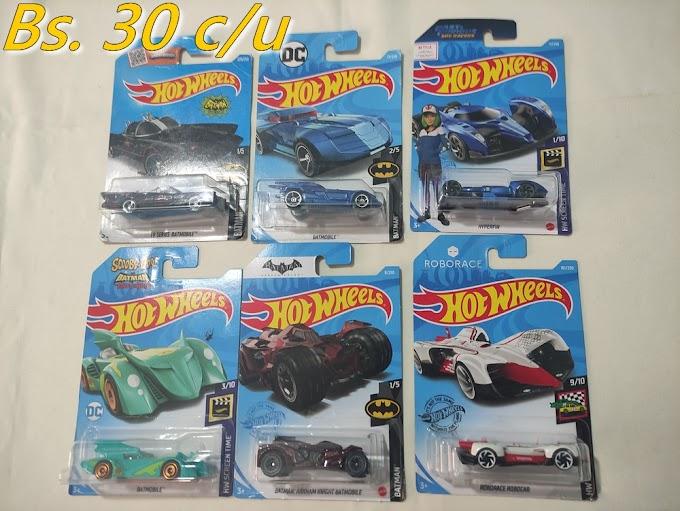 Hot Wheels: Diferentes modelos de colección (Mattel)