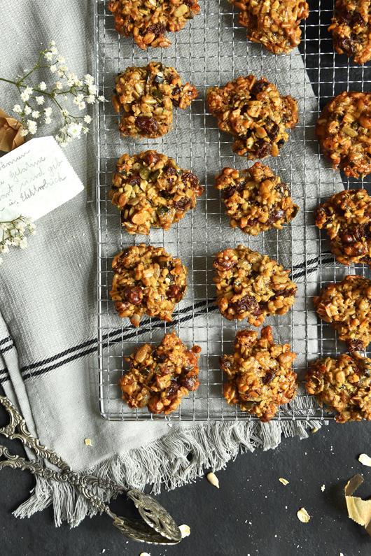 Fixer Snack aus dem Ofen: Müslikekse