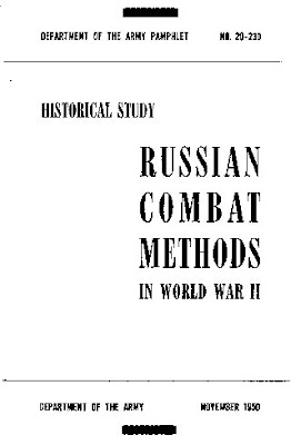 Russian Combat Methods in World War II