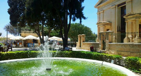 valletta fountain malta travel guide