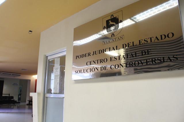 Sede principal del Centro Estatal de Solución de Controversias del Poder Judicial del Estado de Yucatán, ubicada en la calle 35 de la colonia Centro, Mérida.