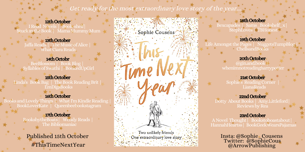 This Time Next Year - Sophie Cousens | Book Review/Blog Tour