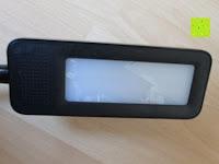 innen: DBPOWER® Oberfl chenlichtquelle, Dimmbar, Augenschutz, LED-Schreibtischlampe (6W, 800LUX, 3-Level-Dimmer, Flexible Arm, schwarz)