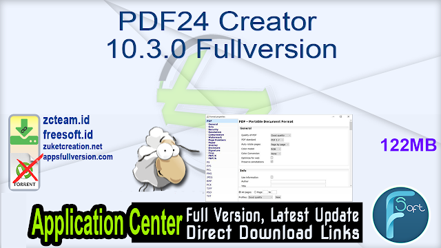 PDF24 Creator 10.3.0 Fullversion