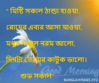 Bangla good morning message