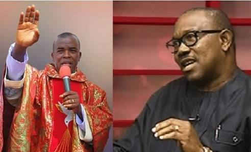 Father Mbaka Finally Tenders His Apology To Peter Obi Publicly.