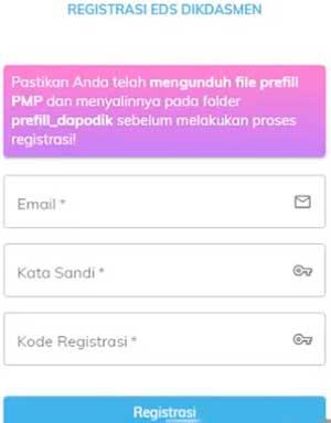Cara Registrasi Dapodik Offline : registrasi, dapodik, offline, Download, Prefill, Registrasi, Offline, Nasional, Tujuwan.com
