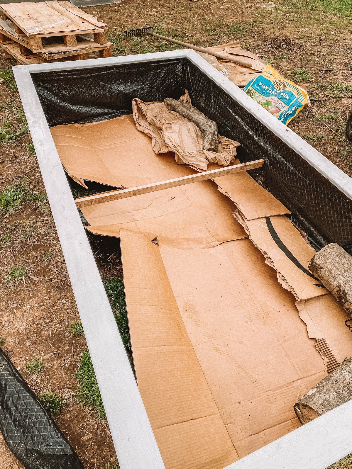 Cheapest Way To Fill A Garden Bed — Gather Homestead