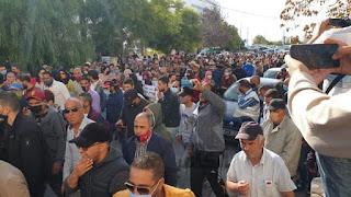 الكاف : إحتجاجات للتنديد بإستثناء الجهة من برامج التنمية التي تعتزم الحكومة تنفيذها خلال الفترة المقبلة
