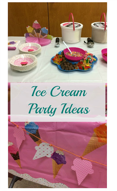 "What screams ""Summer"" more than ice cream! Here is how I created an ice cream party to celebrate the beginning of Summer."