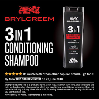 Brylcreem 3 in1 Conditioning Shampoo, 200 ml, theayazhashmi
