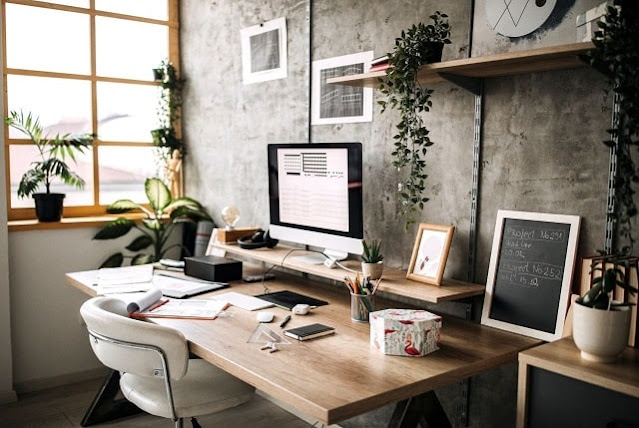 ideas make home office more luxurious wfh workplace desk