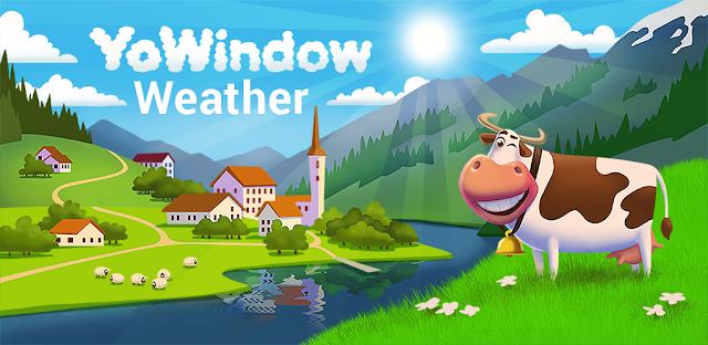 تنزيل تطبيق  YoWindow Weather 2.19.6 - عالم أرصاد جوية جميل وقوي لنظام الاندرويد