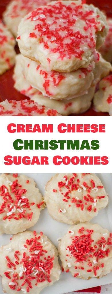 Christmâs Creâm Cheese Sugâr Cookies