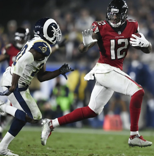 NFL playoffs | Solid Falcons put a lid on Rams | Titans stun Chiefs on wild-card Saturday