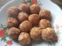 Resep Bola Kentang Gurih ( Savory Potato Balls Recipe )