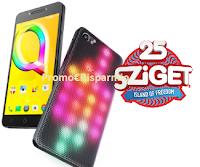 Logo Vinci gratis smartphone Alcatel A5 LED e Festival Sziget