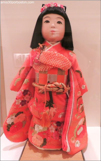 Muñeca Japonesa Regalo para Caroline Kennedy