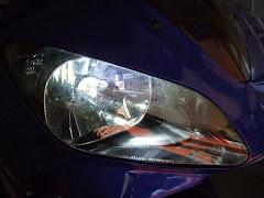 LED RIBBON(エルリボン)H4 LEDヘッドライトバルブはスフィアライトLEDヘッドライトバルブとは明らかに違う配光