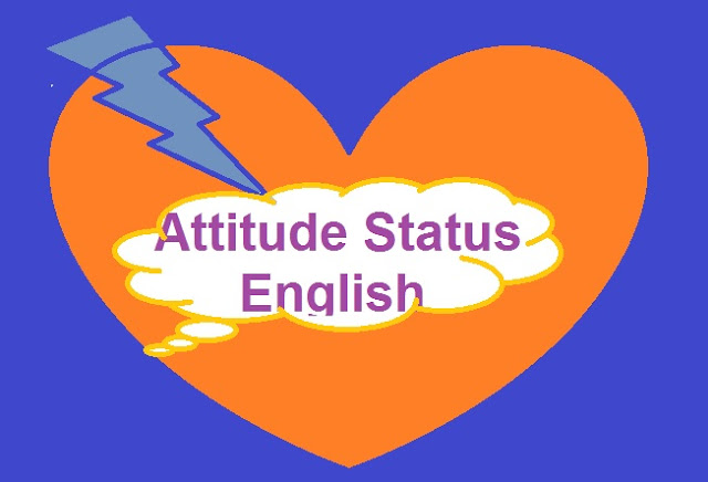 Attitude, FB, Facebook, Hindi, English