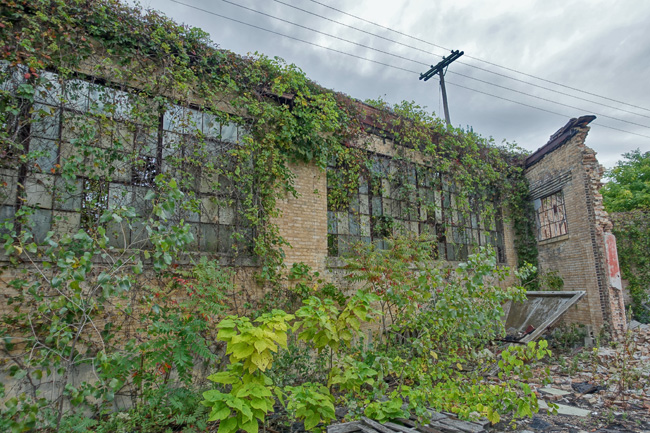 Abandoned Escan Corporation Factory in South Bend Indiana