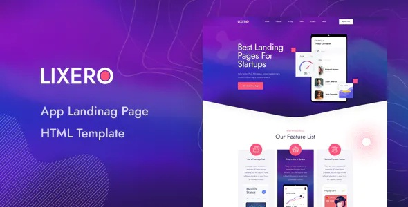Best App Landing Page HTML Template