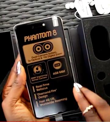 Tecno Phantom 8 picture, specs, image, pics