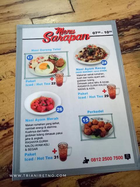 menu di cawit ciumbuleuit