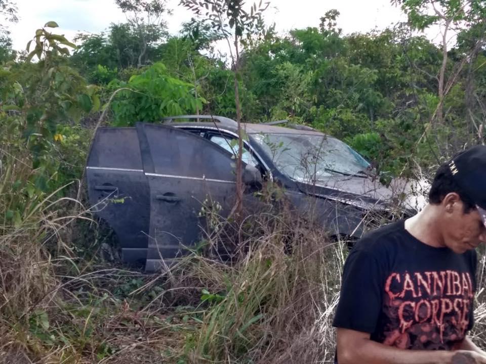 Esposa do ex-prefeito de Brejo, perde o controle do carro e sofre acidente na estrada entre Anapurus e Brejo.