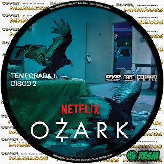 GALLETA 2 [SERIE TV] OZARK - TEMPORADA 1 - [2018] [COVER DVD]
