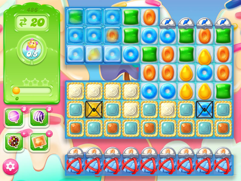 Candy Crush Jelly Saga 486