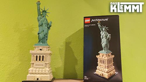 Statue of Liberty LEGO® 21042 - www.dasklemmt.de