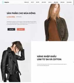 Template blogspot landing page bán hàng một sản phẩm