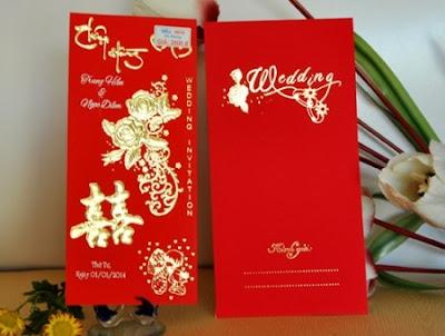 mẫu thiệp cưới truyền thống đẹp
