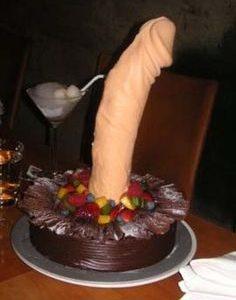 A huge cock cake image