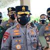 Kapolres Bersama Dandim Takalar Dampingi Kapolda Merdisyam, Meninjau Pelaksanaan Vaksinasi Massal Akpol 99
