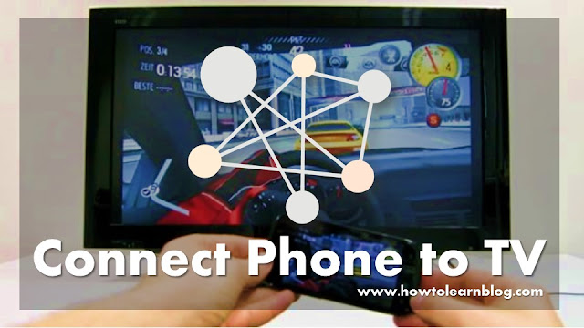Know here how to connect any Android phone to TV? Connect TV to WiFi to mobile. Connect the LED TV to Micro HDMI Cable. Micro USB to HDMI Adapter TV connector.