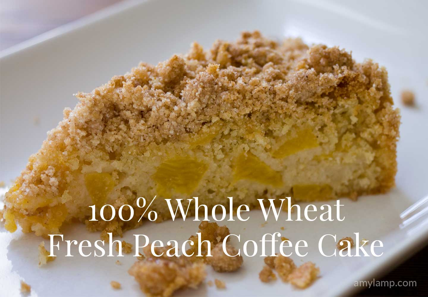 Peach Coffee Cake With Crumb Topping