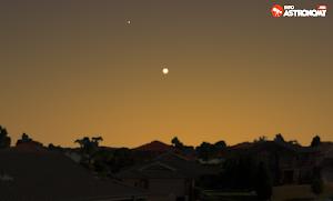Planet Venus Mulai Kembali Terlihat di Langit Senja