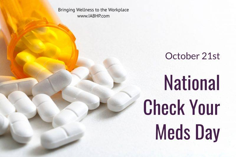 National Check Your Meds Day Wishes for Instagram