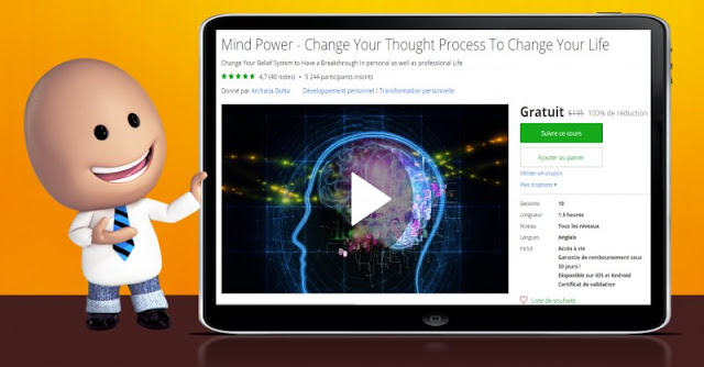 [100% Off] Mind Power - Change Your Thought Process To Change Your Life| Worth 195$