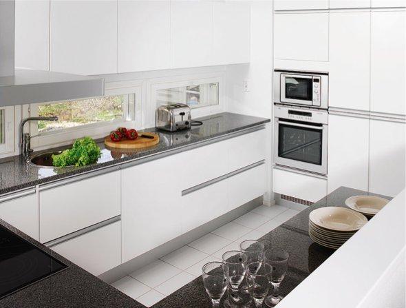 oma koti valkoinen keittiöremontti